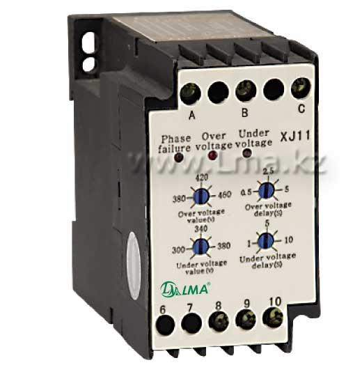 Реле контроля фаз и напряжения РКФH-11Л